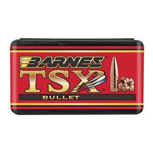 "Barnes Triple Shock X (TSX) Lead Free .30 Caliber .308"" Diameter 168 Grain Solid Copper Hollow Point Boat Tail Projectile 50 Per Box"