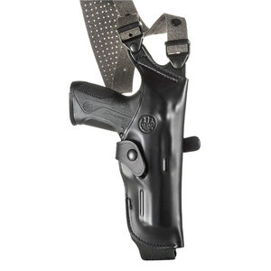 Beretta Mod. H for PX4 Full Size Pistols Vertical Shoulder Holster Right Hand Leather Black