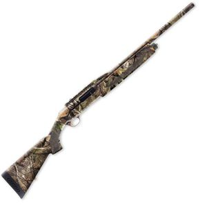 "Browning Silver Rifled Deer Semi Auto Shotgun 12 Gauge 22"" Barrel 3"" Chamber 4 Rounds Aluminum Alloy Receiver Synthetic Stock Mossy Oak Break-Up Country 011411321"