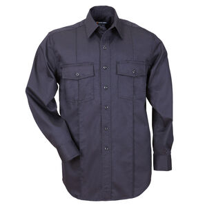 5.11 Tactical Men's L/S Class A Station Shirt Small Navy