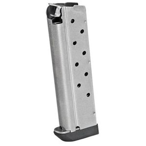 Springfield 1911 Magazine 40 S&W 9 Rounds Stainless Steel
