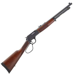 "Henry Big Boy Steel Carbine Lever Action Rifle .38 Special/.357 Magnum 16.5"" Round Barrel 7 Rounds Steel Receiver Large Loop Lever American Walnut Stock Blued Barrel"