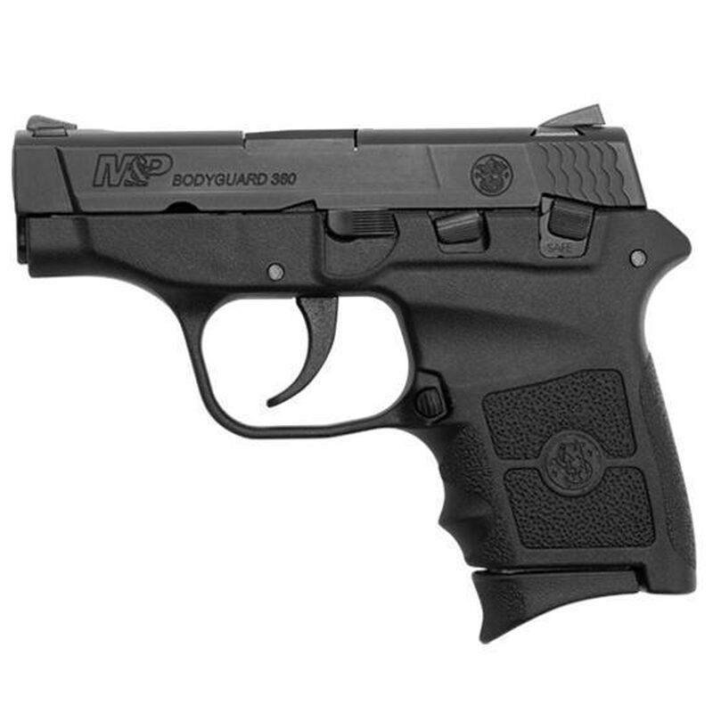 "Smith & Wesson M&P Bodyguard 380 Semi-Auto Handgun .380 ACP 2.75"" Barrel 6 Rounds Polymer Frame Matte Black"