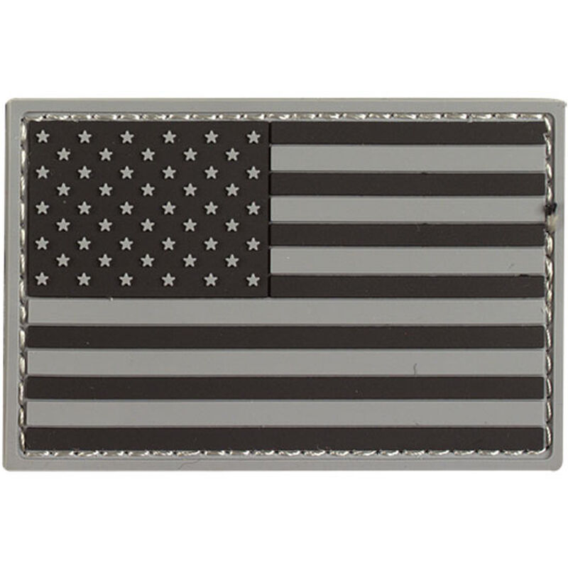 Voodoo Tactical USA Flag Rubber Patch Gray