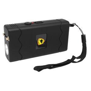 Guard Dog Disabler Stun Gun Black Rubber Coat with LED Flashlight