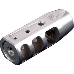 "Fortis Manufacturing RED Brake 5.56mm AR-15 Muzzle Brake 1/2""x28 TPI 4140 Steel Stainless Steel Finish F-REDSS"