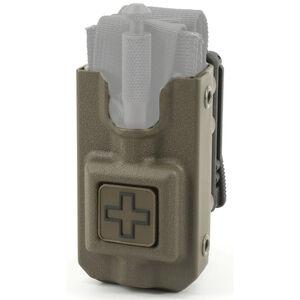 Eleven 10 RIGID TQ Case Fits SOFT T MOLLE Clip Polymer Ranger Green