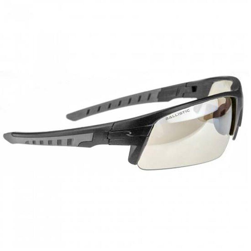 Radians Blast FX Shooting Glasses Ballistic Rated Eyewear ANSI Rated Enhanced Clarity Lens Clear Lens Black/Gray Frame