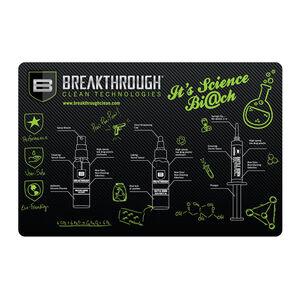 "Breakthrough Clean Technologies Pistol Gun Cleaning Mat 11"" x 17"" Polyester/Neoprene"