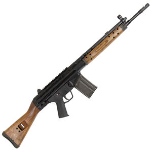 "Century Arms International C308 Semi Auto Rifle .308 Winchester 18"" Barrel 20 Rounds Wooden Furniture Black Finish"