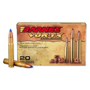 Barnes .35 Whelen Ammunition 20 Rounds, 200 Grain TTSX FB, 2700fps