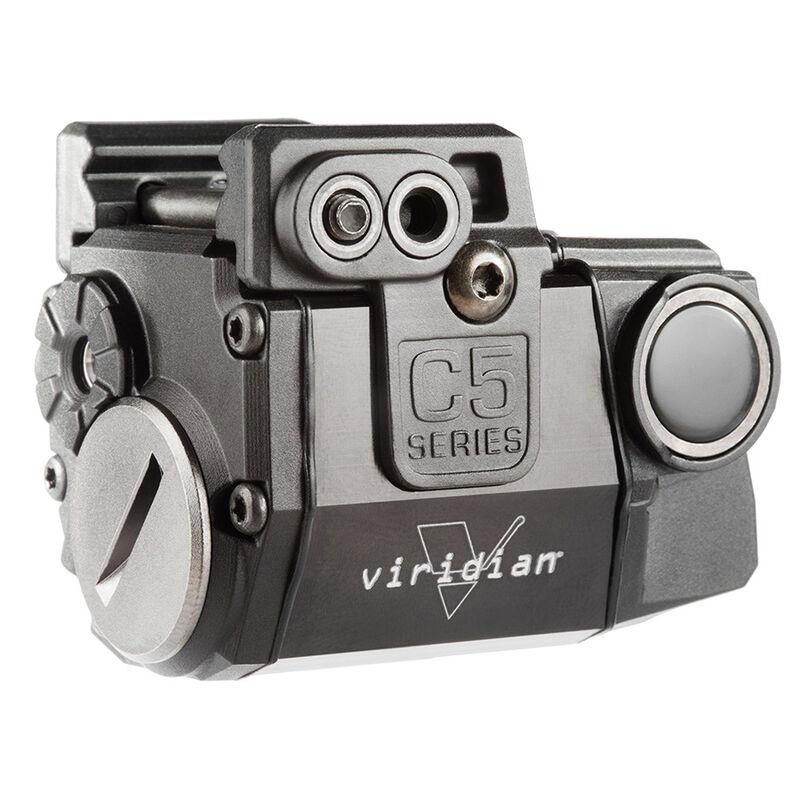 Viridian Universal Green Laser for Sub Compact Guns Black Finish C5