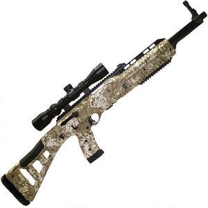 "Hi-Point Hunter Carbine Semi Auto Rifle .45 ACP 17.5"" Barrel 9 Rounds with 1.5-5x32mm Scope Desert Digital Camo Polymer Stock Black Finish"