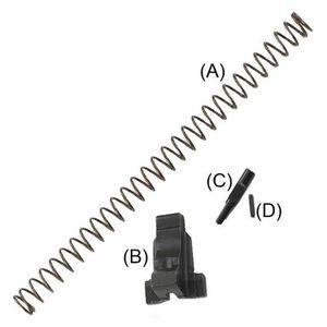Beretta 92/96 Locking Block Kit Gen 3 Black LE9201