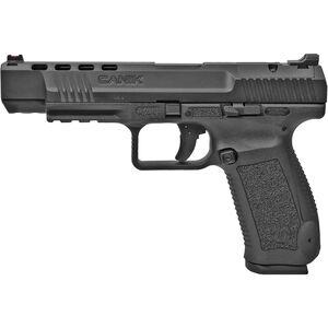 "Century Arms Canik TP9SFx 9mm Luger Semi Auto Pistol 5.2"" Barrel 20 Rounds Fiber Optic Front Sight Black Polymer Frame Black Finish"
