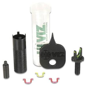 AR-15 Interchangeable Front Sight Red and Green HiViz Replacement Sight Ensures Quick Target Acquisition
