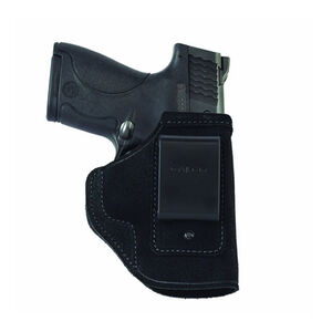 Galco Stow-N-Go S&W M&P Shield with Viridian Reactor IWB Holster Right Hand Leather Black