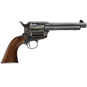 "Taylor's & Co 1873 Cattleman Revolver 357 Mag 5.5"" Barrel 6 Rounds Walnut Grip Blued"