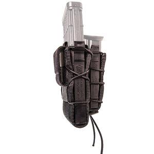 HSGI Double Decker TACO Single Rifle and Single Pistol Mag Pouch Belt Mount Black