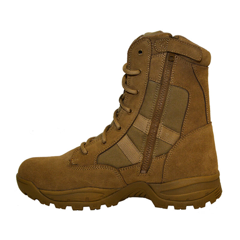 """Smith & Wesson Breach 2.0 9"""" Side Zip Boot 9W Coyote"""