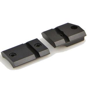 Warne Maxima Steel Two Piece Weaver Style Scope Base Mauser 98 Unaltered Matte Black M902/832M
