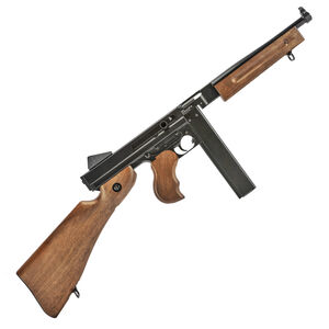 """RWS/Umarex M1A1 Full Auto Co2 Air Rifle 177 BB 435 FPS 12"""" Barrel Wood Stock and Grip 30Rd"""