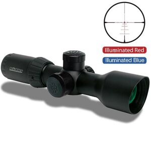 Konus KonusPro T30 3-12x44 Riflescope Engraved Dual Illuminated Ballistic 550 Reticle 30mm Tube Matte Black Waterproof 7291