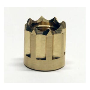 LongShot Viper Barrel Thread Protector 5/8-24 x .63 Polished Brass
