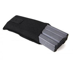 Blue Force Gear Low Rise M4/AR-15 Belt Mounted Single Magazine Pouch Ten Speed Military Grade Elastic Matte Black