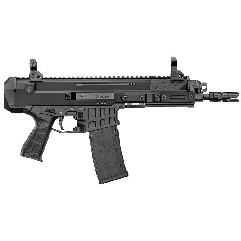 "CZ Bren 2 Ms 5.56 NATO Semi Auto Pistol 8"" Barrel 30 Rounds AR-15 Magazine Compatible Aluminum Upper/Polymer Lower Matte Black Finish"