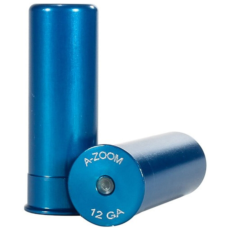 A-Zoom 12 Gauge Snap Caps Aluminum Blue 5 Pack