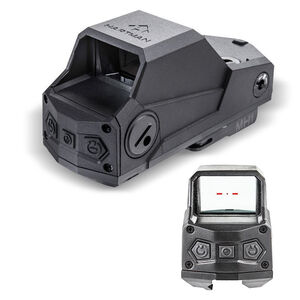 CAA Hartman Red Dot Reflex Sight Standard Reticle AR-15 Picatinny/Weaver Compatible CR123 Battery Polymer Housing Matte Black