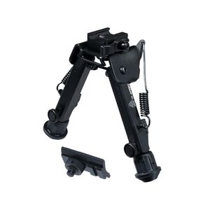 "Leapers UTG Super Duty Bipod With QD Lever Mount 6.0"" to 8.5"" Metal Black TL-BP98Q"