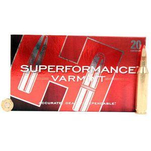 Hornady Superformance .243 Winchester Ammunition 20 Rounds V-Max 75 Grains 83433