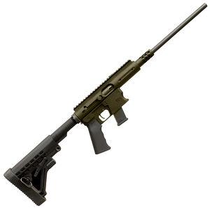"TNW Aero Survival Rifle .40 Smith & Wesson Semi Auto Rifle 16"" Barrel 31 Rounds GLOCK Style Magazine Carbine Stock OD Green Finish"