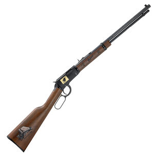 """Henry Special Edition Philmont Ranch Lever Action Rifle 22 LR 20"""" Barrel 16 Rounds Walnut Stock Blued"""