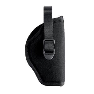 "BLACKHAWK! Hip Holster 3"" to 4"" Barrel Medium and Large Frame Revolvers Right Hand Black Nylon"