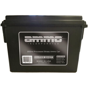 Ammo Inc Processed Brass .45 ACP Ammunition 200 Rounds 230 Grain TMJ 824fps Remanufactured