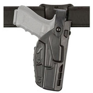 Safariland Model 7285 7TS SLS Low Ride Duty Belt Holster Fits SIG Sauer P320 and X-Full/X-Vtac 9/40 Right Hand SafariSeven STX Plain Matte Black
