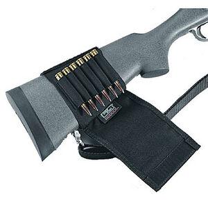 Rifle Buttstock Shell Holder Cordura Black