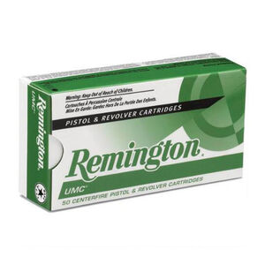 Remington 10mm UMC Ammunition 50 Round Box MC180 Grains