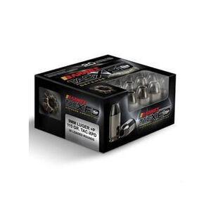 Barnes 9mm +P Ammunition 20 Rounds TAC-XPD HP 115 Grain