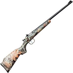 "Keystone Arms Crickett Single Shot Bolt Action Rimfire Rifle .22 WMR 16"" Barrel 1 Round Mossy Oak Break-Up Camo Synthetic Stock Blued Finish"