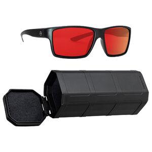 Magpul Explorer Eyewear Red Mirror Polycarbonate Lens TR90NZZ Frame Black