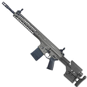 """LWRC R.E.P.R MKII Semi Auto Rifle 7.62 NATO 20"""" Spiral Fluted Barrel 20 Rounds Free Float Hand Guard Magpul Stock and Grip Tungsten Grey"""