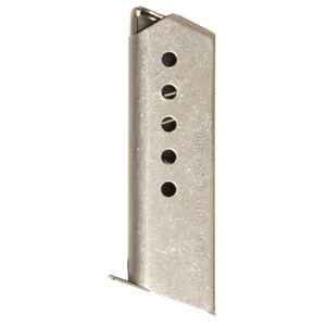 Excel Arms Accu-Tex AT-380II/LT-380 Magazine 380 ACP 6 Rounds Stainless Steel
