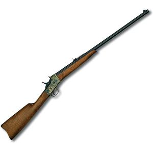 "Pedersoli Rolling Block Sporting Rifle .30-30 Win 28"" Barrel 1 Round Case Hardened Receiver Walnut Stock Blued S.812-303"