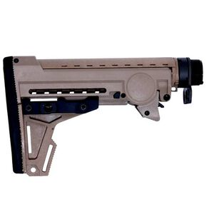 ERGO F93 PRO AR-15 Stock 8 Position Collapsible Stock Assembly Polymer Dark Earth 4925-DE