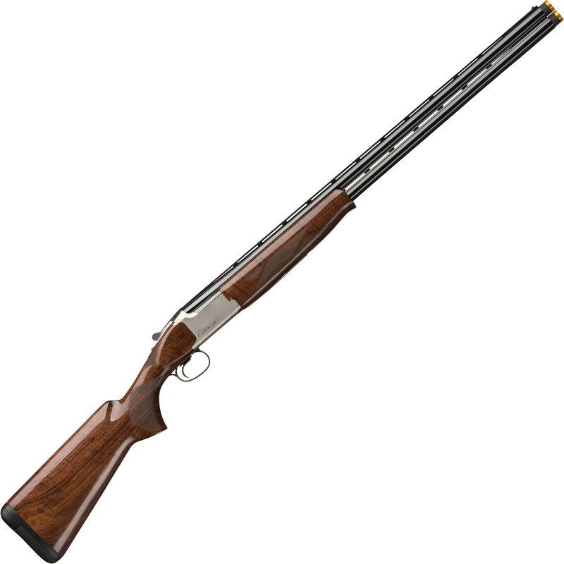 "Browning Citori CXS White 12 Gauge O/U Break Action Shotgun 30"" Barrels 3"" Chambers 2 Rounds Walnut Stock Silver Nitride/Blued Finish"