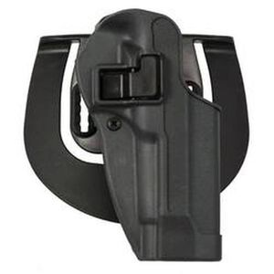 BLACKHAWK! SERPA SPORTSTER 1911 Government Paddle Holster Right Hand Polymer Gunmetal Gray 413503BKR